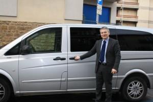 Auto con autista a Firenze