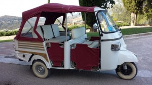 Tuk Tuk Florence Ape Calessino noleggio con autista a Firenze