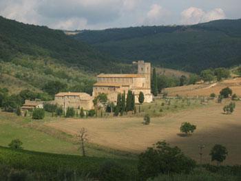Tuscany Tour Abbazia di Sant'Antimo