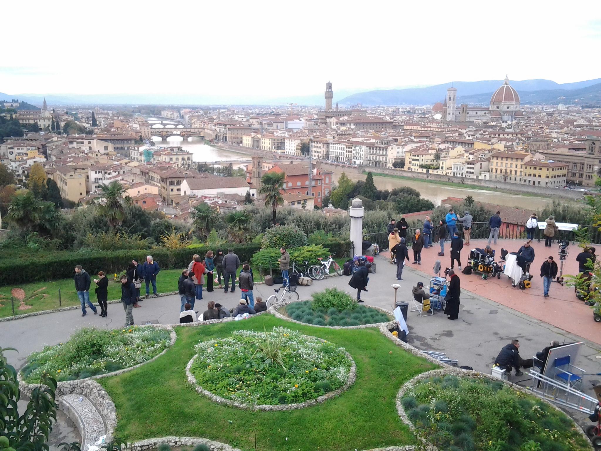 Riprese cinematografiche Firenze noleggio con autista Firenze