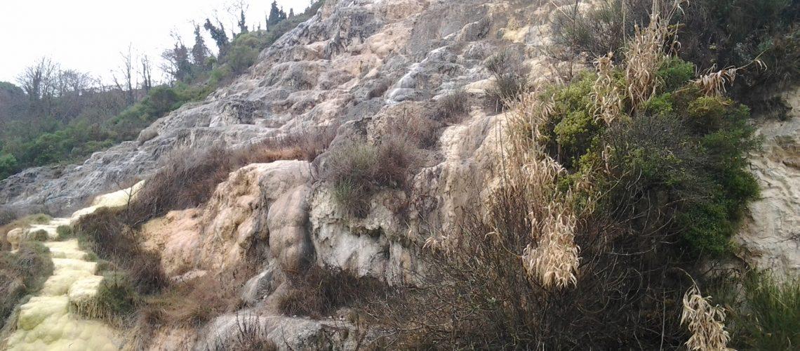 Terme di Bagno Vignoni cascate